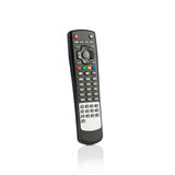 Infrared remote control for TV. Satellite receiver  on white background Royalty Free Stock Photos