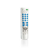 Infrared remote control for TV. Satellite receiver  on white background Stock Photography