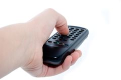 Infrared remote control unit Stock Image
