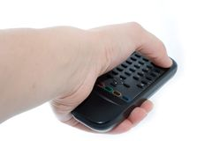Infrared remote control unit i Royalty Free Stock Images