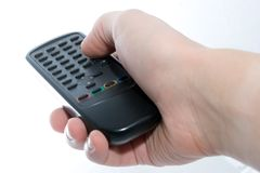 Infrared remote control unit i Stock Photos