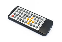 Infrared Remote Control for Video Player Royalty Free Stock Photo
