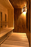 Infrared sauna. Infrared sauina in a SPA centre stock images