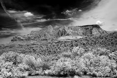 Infrared Sedona Arizona Obrazy Stock