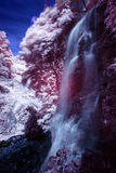 Infrared siklawy fotografia Obraz Royalty Free