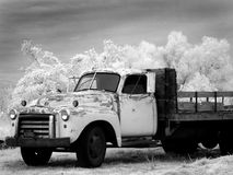 Infrared Truck Royalty Free Stock Images