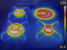 Infrared van gasowen Stock Afbeelding