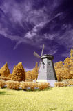 Infrared Windmill. Located at Kuala Lumpur, Malaysia, Taman Bukit Jalil is one of the most popular recreation park especially to those joggers & photographer Royalty Free Stock Image