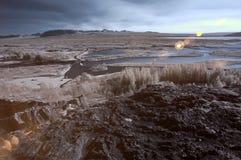 Infrarode rivier Stock Fotografie