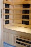 Infrarode sauna stock afbeelding