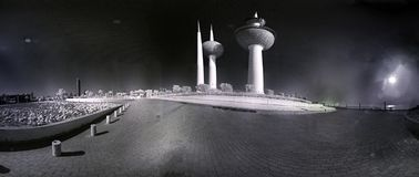 Infrarode Torens royalty-vrije stock fotografie