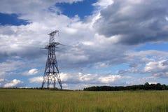 Infrastructure électrique Photographie stock