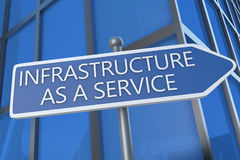 Infrastructure as a Service Stock Photo
