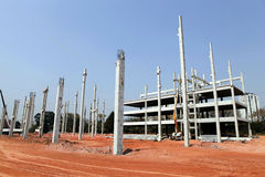 Infrastructure construction. In concrete precast in sao paulo, brazil Stock Image