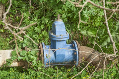 Infrastructure Supply water. Stock Photography