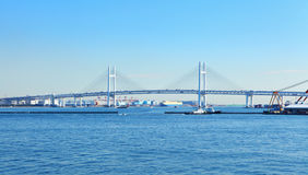 Infrastructure in yokohama royalty free stock photos