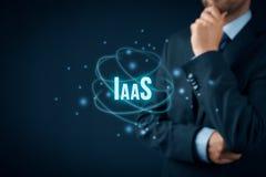 Infrastructuur als Dienst IaaS royalty-vrije stock afbeelding