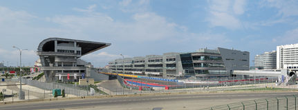 Infrastructuurf1 Russische Grand Prix Sotchi Royalty-vrije Stock Afbeelding