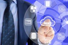 Infrastruktur als Service-Experte Lizenzfreies Stockbild