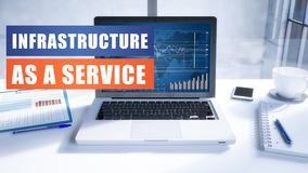 Infrastruktur als Service vektor abbildung