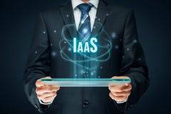 Infrastruktur som en tjänste- IaaS Fotografering för Bildbyråer