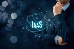 Infrastruktur som en tjänste- IaaS Arkivfoton