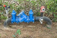 Infrastruktury dostawy woda Obraz Royalty Free