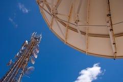 Infrastruttura di telecomunicazione Fotografia Stock