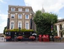 Infuła pub Greenwich fotografia royalty free