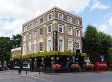 Infuła pub Greenwich obrazy stock