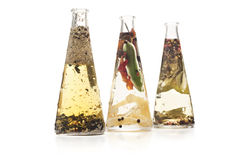 Infused oils Stock Photography