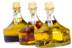 Infused oils royalty free stock images