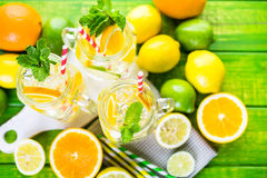 Infused water Royalty Free Stock Images