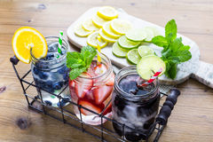 Infused water Stock Photography