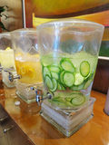 Infused Water Stock Image