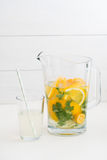 Infused water Stock Photos