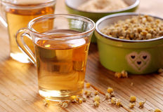 Infusion of chamomile Stock Photo
