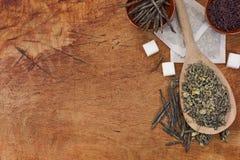 infusion de thé Photographie stock