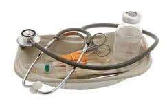 Infusion, fournitures médicales Photos libres de droits