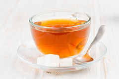 Infusion tea cup Royalty Free Stock Images