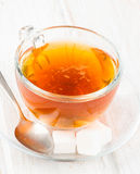 Infusion tea cup Stock Photo