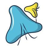 Infusorium-Ikone, Karikaturart lizenzfreie abbildung