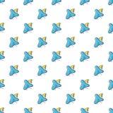 Infusorium pattern seamless Stock Photography