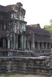 Ingång av Angkor Wat Arkivfoto