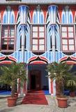 Ingång av Art Hotel, Sankt Veit en der Glan, Österrike Fotografering för Bildbyråer