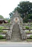 Ingång av den Pura Kehen templet Arkivbild