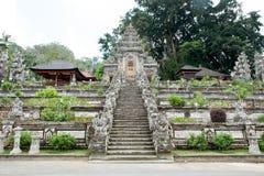 Ingång av den Pura Kehen templet Royaltyfri Foto