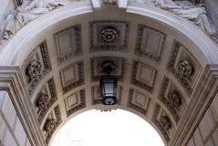 Ingång av det utländsk och brittiska samväldetkontoret, London, England Royaltyfri Foto