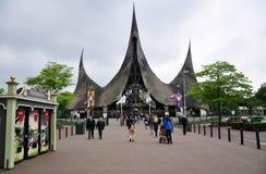 Ingång av Efteling, nöjesfält, Nederländerna royaltyfria bilder