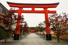 Ingång av Fushimi Inari, Kyoto Arkivfoto